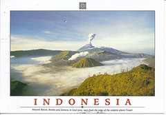 From Staciargani (AunteyEm/MichelleW) Tags: nature indonesia volcano postcards mountbromo eastjava tosari mountbatok mountsemero
