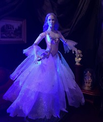 Haunting Beauty (MaxxieJames) Tags: white house lady dark toy bride doll shadows action spirit ooak ghost gothic haunted spooky ethereal figure haunting ghosts mansion custom phantom manor ghostly maiden