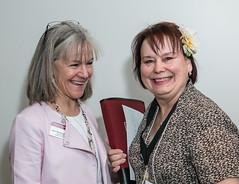 Janet Wasserman and Donna Komidar
