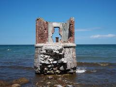 Ruine (riddlesgirl83) Tags: meer ruine cap rgen ostsee arkona