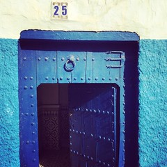 Door in Blue (dda1605) Tags: door blue white morocco 25 maroc rabat oudaya