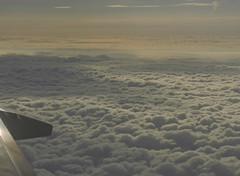 les lumires comme jamais je n'avais vues (laetitiablabla) Tags: sunset sky cloud france plane soleil fly europe poetry glory coucher eire lovers ciel vol nuage avion irlande