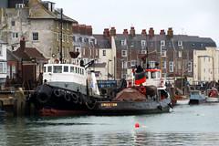 IMG_7114 - Dunkirk Film Set - Weymouth - 28.07.16 (Colin D Lee) Tags: christophernolan movie dunkirk worldwar2 film set weymouth quay crew warnerbros tugs