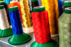 Color bobbins (mrgraphic2) Tags: color bobbins colorful hdr twine string