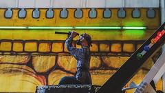 (T e r r  c  l a) Tags: chile santiago pirate pirateship juegosdiana attractionpark