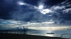 overcast (Wilson Au | ) Tags: ocean longexposure sunset water japan clouds canon overcast slowshutter  ishigaki  ef2485mmf3545usm eos5dmarkiii  fusakiresortvillage