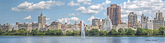 Upper East Side (albyn.davis) Tags: nyc newyorkcity skyline urban city panorama buildings lake reservoir water sky clouds