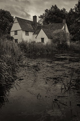 Haywain revisited (Neil W2011) Tags: nikon d7000 suffolk landscape dedhamvale flatford johnconstable haywain cottage