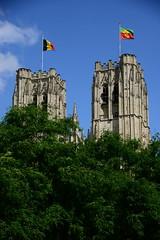 St.Michiels en St.Goedelekatedraal (larry_antwerp) Tags: brussel brussels     belgium belgi          bruxelles