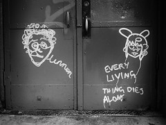 EveryLivingThing (Street Witness) Tags: street photography nolita nyc graffiti scrawl