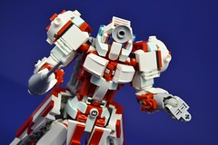 Medic_09 (Shadowgear6335) Tags: red white robot lego system technic medic bionicle moc shadowgear shadowgear6335