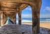 Eyal Aharon-Manhattan Pier- April 19th,  2016 -94_HDR (eyal.a80) Tags: california eyalaharonphotographer manhattanbeach manhattanpier ocean surf surfing water waves
