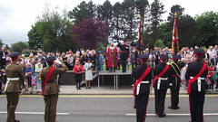 Duke of Lancasters Regiment (mrrobertwade (wadey)) Tags: smart mayor granville salute lancashire soldiers morris rossendale rbc milltown haslingden wadey robertwade wadeyphotos mrrobertwade