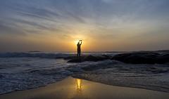 Kovalam (Arun Veerappan) Tags: cwc chennaiweekendclickers 540 chennai nammachennai mychennai dawn sunrise firstlight selfie kovalam hues weekend canon 2016 beach india 121clicks emphoka uclickframe ngc nationalgeographic nationalgeotraveller arun ar arunveerappan arunveer