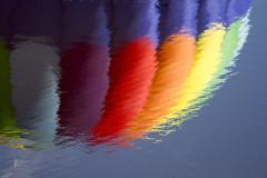 116in2016 #20 abstract (Karen Juliano) Tags: abstract reflection rainbow colorado aircraft hotair balloon steamboatsprings 116in2016 habr2016