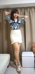 DSC08383 (mimo-momo) Tags: japanese crossdressing transvestite crossdresser crossdress tightskirt