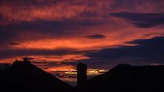 Sherwood evening clouds 03 (bob watt) Tags: canon canoneos7d 7d 18135mm sunset august 2016 clouds sky