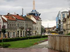 Cluj-Napoca - Michael the Brave square (Bogdan Pop 7) Tags: romnia romania roumanie romnia cluj clujnapoca claudiopolis kolozsvr klausenburg kolozsvar erdely erdly europe ardeal architecture arhitectura arhitectur old city centre
