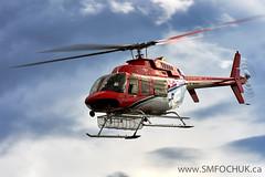 Stephen M. Fochuk_VAV (Stephen M. Fochuk) Tags: cfvav acastaheliflight cyzf yellowknife nwt northwestterritories helicopter bell407 aviation