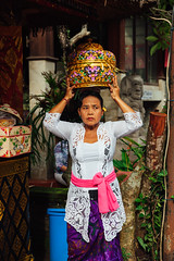 Woman with basket on the head (Evgeny Ermakov) Tags: editorialuse asia asian bali balinese dayofsilence god indonesia indonesian newyear nyepi silence silenceday southeast southeastasia ubud ancient basket box carry carryonhead carrying carryingonhead celebration ceremony clothes colorful colors cultural culture cultures exotic famous fashion gift head holiday holidays offering religion religious ritual street style temple tourism touristic traditional travel typical vacation vibrant white woman women