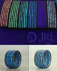 Ending Soon! Less than 3 hours!! To get your Aurora matching Bracelet and Ring!!  Check @carbonfi profile for link #jenniferrayjewelry #kickstarter #kickstagram #gitd #rave #edm #edc #badass #pewpew #carbonfiber #carbonfibre #jewelry #ri (JenniferRay.com) Tags: instagram carbon fiber jewelry exclusive jrj jennifer ray paracord custom
