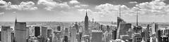 Newyorkpano-bw (Ten2Ten) Tags: powershotg7xmkii pano photomerge lightroomcc silverefexpro2 redfilter empirestatebuilding chryslerbuilding oneworld nyc manhattan greatestcityintheworld