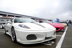 Ferrari F430 (Andr.32) Tags: fujisupersportsday fsw fujispeedway  photography car cars japan sportcar sportcars supercar supercars exotic super ferrarif430 ferrari f430 ferrari360modena ferrari360 360modena 360 modena