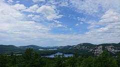 La Cloche Mountains, Ontario, Canada (alex_7719) Tags: ontario canada killarneyprovincialpark killarney lake pond water     mountains  lacloche crack clouds