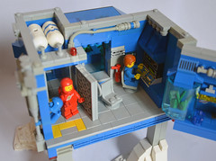 Ice Planet Research Complex 09 (IamKritch) Tags: space classicspace science base neoclassicspace lego