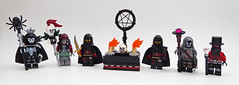 Evil magicians figbarf (Magma guy) Tags: lego minifigs figbarf practicioners black magic evil wizards nasty tricksters just one nigger missing it would be pretty funny pun
