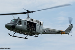 USAF 459th Airlift Squadron UH-1N (keis0204) Tags: usaf 459thairliftsquadron uh1n helicopter aviation aircraft airshow military canon eos7dmarkii huey