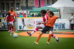 Homeless World Cup 2016, George Square, Glasgow, Scotland - 12 July 2016 (Homeless World Cup Official) Tags: hwc2016 homelessworldcup aballcanchangetheworld thisgameisreal streetsoccer glasgow soccer netherlands switzerland scotland