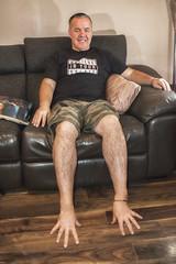 Feet 2 (Glesgaloon) Tags: selfie daft daftselfie photoshop magic originalselfie trickphotography selfportrait