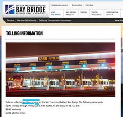 bay bridge does not have eastbound toll (citymaus) Tags: lyft rideshare uber baybridge bayarea toll eastbound westbound sanfrancisco oakland