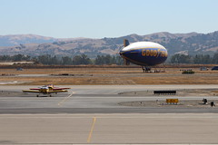 9-17-2016-LVK-Airport-IMG_4503 (aaron_anderer) Tags: lvk airport livermore airplane goodyear blimp lighterthanair helium airship n16cx n164pd