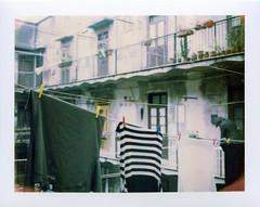 900_Roma_Polaroid_2015-03-25_101 (nefotografas) Tags: camera trip italy roma film rain polaroid rainyday apartment land sanlorenzo 690 expired vacations 440 112004 125turbo