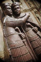 (Rozzdth) Tags: venice italy sculpture art statue italia roman venezia sanmarco porphyry tetrarchs porphyrytetrarchs
