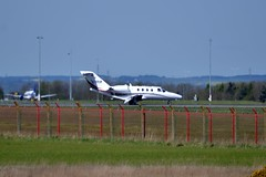 Star Wings Dortmund Cessna 525 CitationJet CJ1 D-ITIP at Newcastle Airport 8/5/15 (CraigPatrick24) Tags: plane newcastle airplane flying aviation transport flight aeroplane landing arrival runway cessna newcastleairport cessna525citationjet cessna525 starwings cessna525citationjetcj1 ditip starwingsdortmund