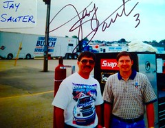 NASCAR, JAY SAUTER, (Picture Proof Autographs) Tags: auto classic ford cup sports sign sport truck real photo model automobile image picture images montecarlo collection grandprix vehicles autograph photographs chevy photograph collections nascar fred vehicle intrepid dodge driver series proof session pontiac autoracing autos collectible collectors craftsman sprint taurus thunderbird signing nationwide charger automobiles collectibles authentic sessions collector drivers busch frederick signed autographed genuine lumina winstoncup autographes inperson campingworld photoproof authenticated xfinity sigatures sigature weichmann pictureproof fredweichmannfrederickweichmann