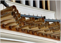 Fanfare (bob the bolder) Tags: uk church suffolk pipes trumpet stpaul organ horn aldeburgh stpeter trompette enchamade