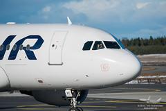 Finnair - OH-LVC - A319-100 (Aviation & Maritime) Tags: norway finnair airbus osl gardermoen a319 engm airbus319 oslolufthavngardermoen a319100 osloairport airbus319100 ohlvc osloairportgardermoen