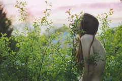 Catapult (tiffanytremaine) Tags: selfportrait girl nude golden back nikon boudoir posture spine selfportraiture goldenhour slouch filmy modernvintage nudeinnature polariodesque