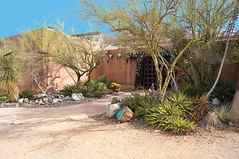 Gallery in the Sun, open daily & free admission! (DeGrazia Gallery in the Sun) Tags: arizona sun ted art architecture artist gallery desert tucson paintings knife az adobe oil palette degrazia catalinas ettore nationalhistoricdistrict