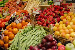 The Market (DaisyDeeM) Tags: colour vegetables fruit market bilbao sp