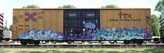 Pre/Pike (quiet-silence) Tags: railroad art train graffiti railcar pre amf network boxcar graff pike freight tbox ttx fr8 sfb tbox661300