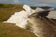 Clouds over Belle Tout | Seven Sisters walk | July 2016-31 (Paul Dykes) Tags: southdowns southdownsway southcoast coast cliffs sea shore coastal englishchannel sussex england uk seaside sun sunnyday chalk downs hills countryside