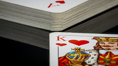 [Explore 2016-07-19] king of hearts - Macro Mondays - cards - 5866 (stefanfricke) Tags: macro cards king heart fav50 sony mm fav100 macromondays a6000 ilce6000 tamron180mm135macro