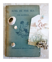 sung by the sea (Carolyn Saxby) Tags: sea vintage book seaside aqua poetry illustrations poems arttag