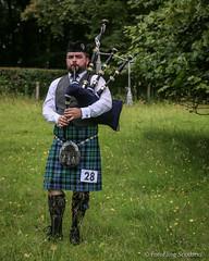 Solo Piper (FotoFling Scotland) Tags: bag scotland kilt argyll event piper highlandgames bagpipe inveraray meninkilts solopiper inverarayhighlandgames