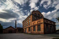 Old Factory (CHCaptures) Tags: old factory city building architecture alt fabrik stadt gebude sky himmel clouds wolken sonyilce7 voigtlnder super wide angle lens 15mm industry graz seifenfabrik